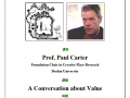 20100611 Prof. Paul Carter – A Conversation about Value