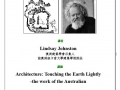 20110322 Lindsay Johnston –Architecture:Touching the Earth Lightly- the work of the Australian